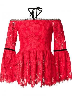 Блузка Grace Alexis. Цвет: красный