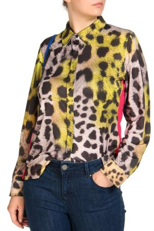 Блуза SARAH KERN. Цвет: мультицвет