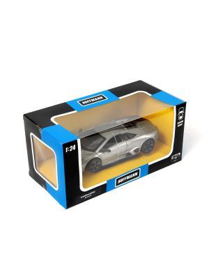 Машина металлическая Lamborghini Reventon 1:24. HOFFMANN. Цвет: серый, желтый