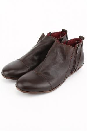 Ботинки DELANO. Цвет: коричневый