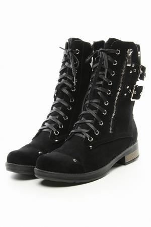 Ботинки X-BAKKO. Цвет: черный