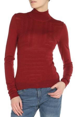 Пуловер SIVIGLIA. Цвет: бордовый