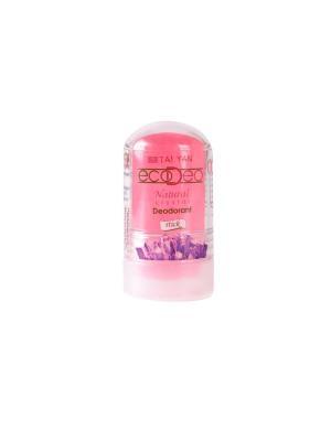 Дезодорант-крислалл  EcoDeo стик с Мангустином, 60 гр. TAI YAN. Цвет: розовый