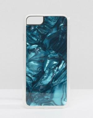 Zero Gravity Чехол для iPhone 7 с принтом лазурита. Цвет: мульти