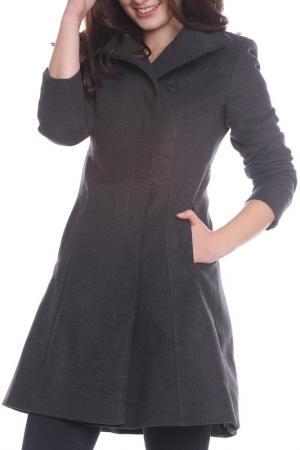 Пальто Emma Monti. Цвет: dark gray