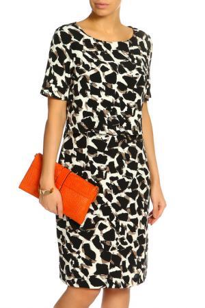Платье Marks & Spencer. Цвет: серый микс