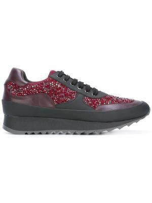 Embellished sneakers Loriblu. Цвет: красный