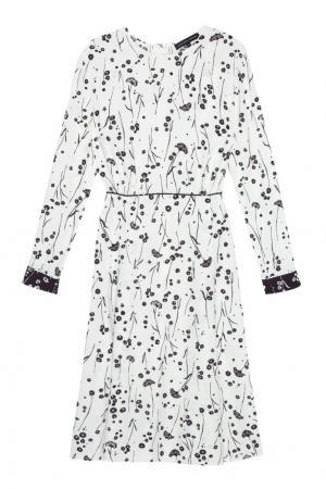 Платье с принтом Alexander Terekhov. Цвет: белый
