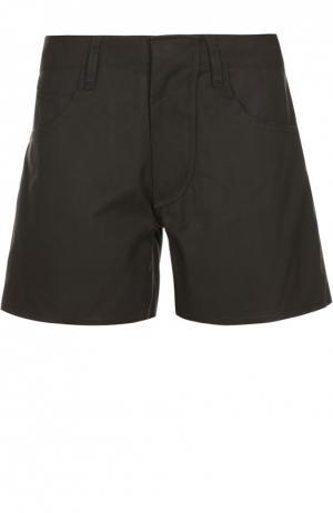 Джинсовые мини-шорты L.G.B.. Цвет: черный