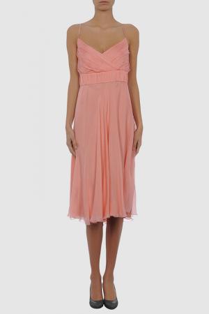 Платье Nina. Цвет: розовый