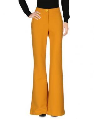 Повседневные брюки LEITMOTIV. Цвет: охра