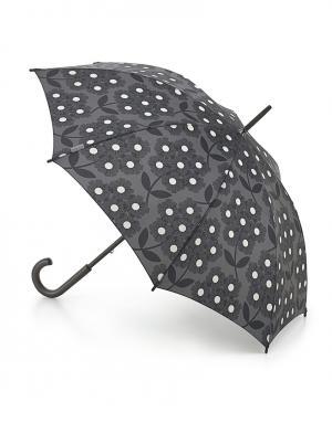 Зонт-трость Цветы  by Fulton Orla Kiely. Цвет: серый