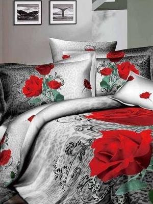 Комплект постельного белья, Dela Rose, 1.5 спальный KAZANOV.A.. Цвет: серый