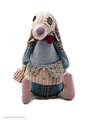 Мягкая игрушка Собачка  Deglingos. Цвет: бежевый, морская волна