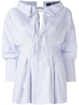 Striped shirt Jacquemus. Цвет: белый