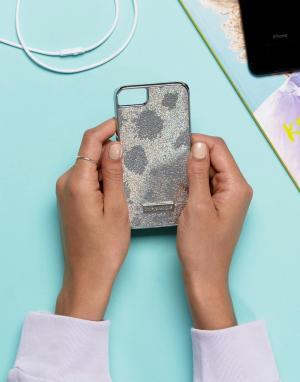 Skinnydip Серебристый голографический чехол для iPhone 6/6S/7/8. Цвет: мульти
