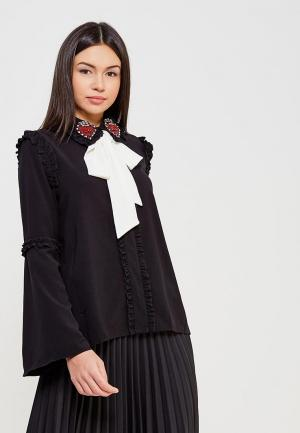 Блуза Sister Jane. Цвет: черный