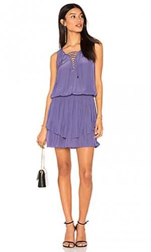 Платье erika RAMY BROOK. Цвет: фиолетовый