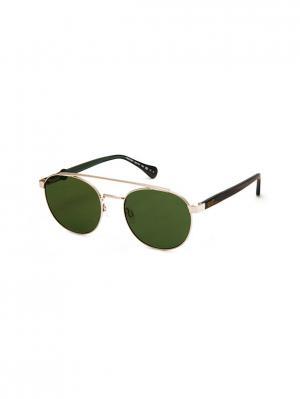Очки солнцезащитные TM 557S 01 Opposit. Цвет: золотистый, коричневый