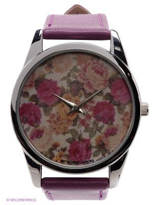 Часы Mitya Veselkov Гобелен. Цвет: фиолетовый