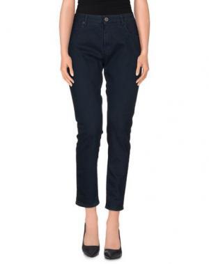 Джинсовые брюки SUPERFINE. Цвет: синий