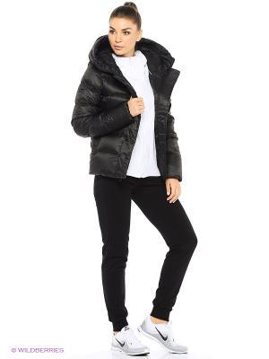 Куртка W NSW DWN FLL JKT HD Nike. Цвет: черный