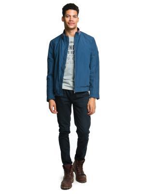 Куртка Malinardi. Цвет: синий