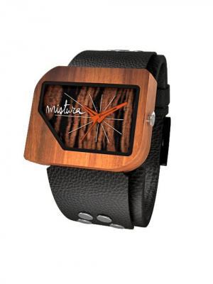 Часы Mistura PELLICANO Black/Pui/Ebony. Цвет: черный