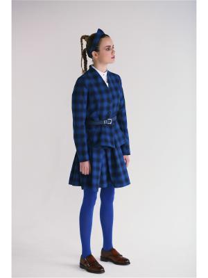 Жакет Бар Julvern. Цвет: синий, лазурный