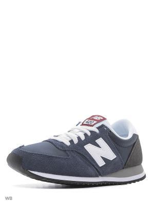 Кроссовки NEW BALANCE 420 CORE. Цвет: серый