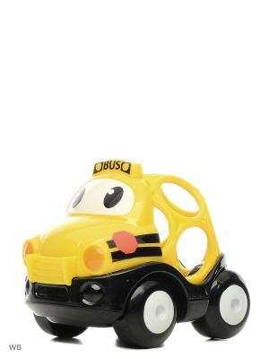 Машинки Только вперед! Школьный автобус (жёлтый) Oball. Цвет: желтый