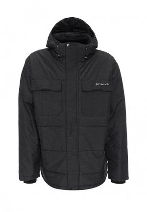 Куртка утепленная Columbia. Цвет: черный