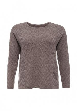 Джемпер Milana Style. Цвет: коричневый