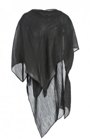 Вязаный шарф Barbara I Gongini. Цвет: черный