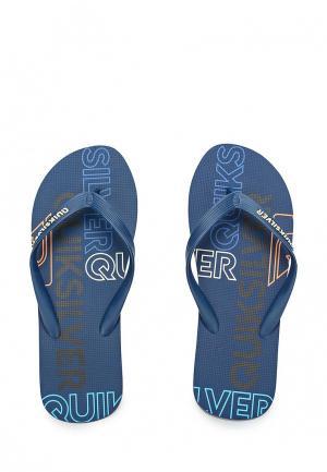 Сланцы Quiksilver. Цвет: синий