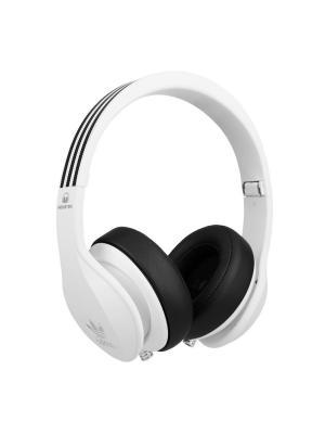 Наушники с микрофоном Monster Adidas Originals Over-Ear, White. Цвет: белый