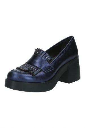 Туфли BENTA. Цвет: синий