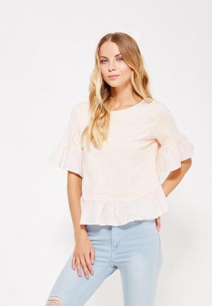 Блуза Care of You. Цвет: розовый