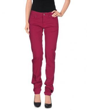 Повседневные брюки ROŸ ROGER'S. Цвет: розовато-лиловый