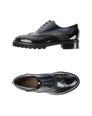 Обувь на шнурках SILVIA ROSSI. Цвет: черный