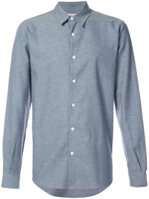 Рубашка шамбре Éditions M.R. Цвет: синий