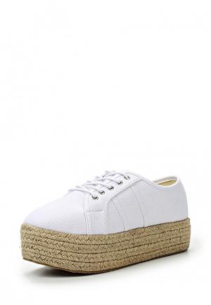 Ботинки Coco Perla. Цвет: белый