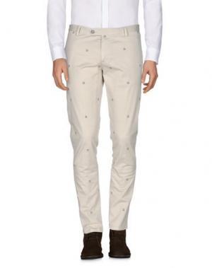 Повседневные брюки GABARDINE. Цвет: бежевый