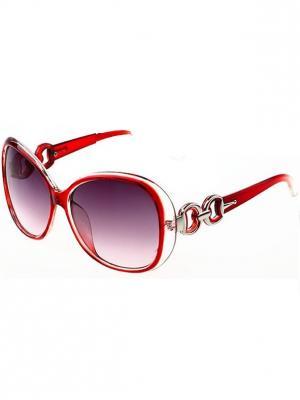 Солнцезащитные очки Leya.. Цвет: красный, черный