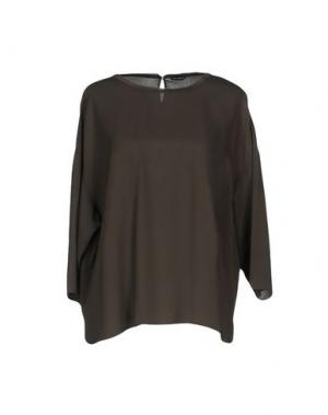 Блузка IRIS VAN HERPEN. Цвет: серый