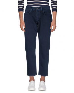 Джинсовые брюки DERRIÉRE. Цвет: темно-синий