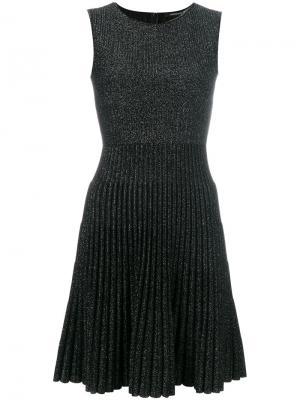 Расклешенное платье Antonino Valenti. Цвет: чёрный