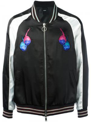 Souvenir bomber jacket D.Gnak. Цвет: чёрный