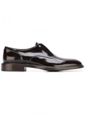 Туфли Оксфорды без шнуровки Givenchy. Цвет: розовый и фиолетовый