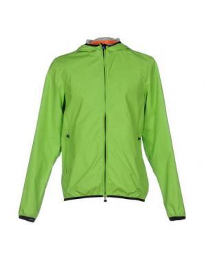 Куртка RRD. Цвет: кислотно-зеленый
